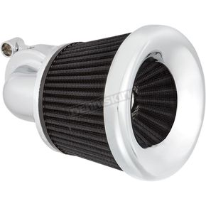 Chrome Velocity 90 Degree Air Cleaner Kit - 600-033