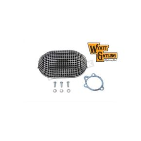 Chrome 3-Bolt Turbo Air Cleaner Kit - 34-0040