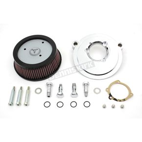 Chrome Air Cleaner Backing Plate Kit - 34-1084
