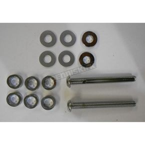 Custom Cycle Engineering Buttonhead 3 1/4 in. Cut-To Length Chrome Breather Bolt Kit - 3/8 in.-16 - DM-5900K