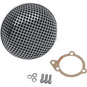 Drag Specialties BOB Retro-Style Air Cleaner for S&S E and G Series Carburetors - 1010-0192