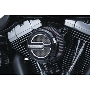 Crusher Satin Black Maverick Air Cleaner Trim - 9239