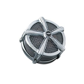 Kuryakyn Chrome ECE Compliant Mach 2 Air Cleaner - 9658
