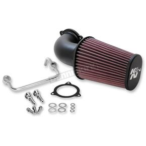 K & N Black Air Charger Performance Intake System - 57-1122