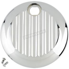 Joker Machine Chrome Finned Fuel Door - 04-521-3