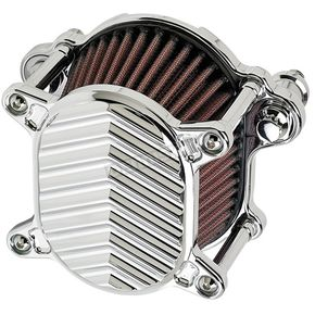 Joker Machine Chrome V-Fin Omega Air Cleaner - 02-169-3
