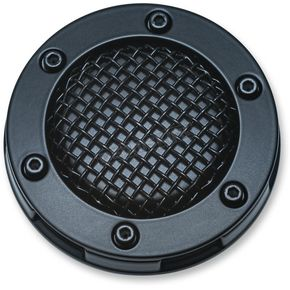 Kuryakyn Satin Black Vented Mesh Gas Cap - 6549