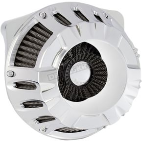 Chrome Inverted Series Deep Cut Air Cleaner - 18-916