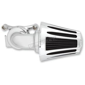 Chrome Deep Cut Monster Sucker Air Cleaner Kit w/Cover - 81-029
