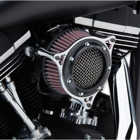 Black/Chrome Air Cleaner  - 606-101-05BC