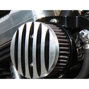 West Eagle Bossley Air Cleaner w/Polished Fins - BSL022B