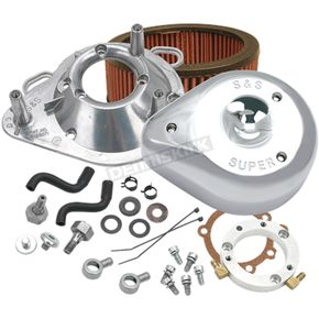 S&S Cycle Chrome Teardrop Air Cleaner Kit - 170-0303B