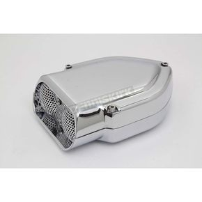 Wyatt Gatling Chrome V-Charger Air Cleaner - 34-0638