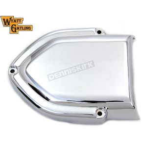 Wyatt Gatling Chrome V-Charger Air Cleaner Cover - 34-0087