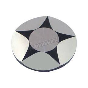 V-Factor Chrome/Black Ray Star Gas Cap - 80030