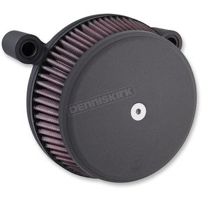 Black Stage 1 Billet Sucker Smooth Air Cleaner Assembly - 18-306
