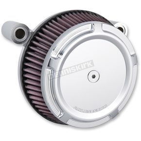 Chrome Stage 1 Billet Sucker Beveled Air Cleaner Assembly - 18-314