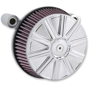 Chrome Stage 1 Billet Sucker 10-Gauge Air Cleaner Assembly - 18-316