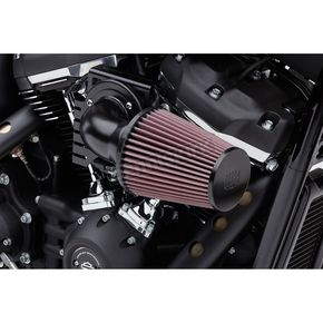 Black High Performance Cone Air Intake Kit - 606-0101-06B