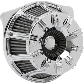 Chrome 10-Gauge Inverted Series Air Cleaner Kit - 18-946