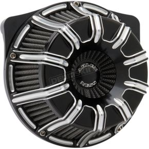 Black 10-Gauge Inverted Series Air Cleaner Kit - 18-947