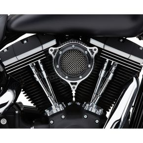 Black Ring w/Chrome Frame RPT Air Intake Kit - 606-0104-05BC