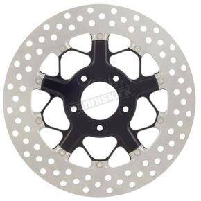 Roland Sands Design 11.8 in Contrast Cut Rear Hutch 2-piece Brake Rotor - 01331802HUTSBM