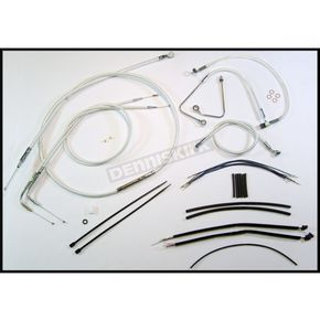 Magnum Sterling Chromite II Designer Series Handlebar Installation Kit for use w/12 in.-14 in. Ape Hangers w/ABS - 387581