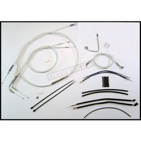 Magnum Sterling Chromite II Designer Series Handlebar Installation Kit for use w/15 in.-17 in. Ape Hangers w/ABS - 387622