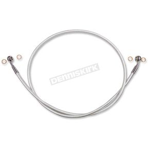 Magnum Sterling Chromite II Braided Front Single Disc Brake Line - 36343SW