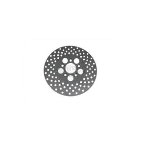 V-Twin Manufacturing 10 in. Front/Rear Drilled Brake Disc - 23-0304