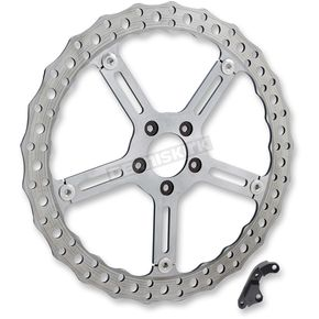 15 in. Left Side Big Brake Jagged Floating Rotor Kit - 02-994