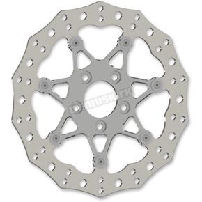Chrome Front 11.8 in. Procross Two-Piece Floating Brake Rotor - 33-10102-202
