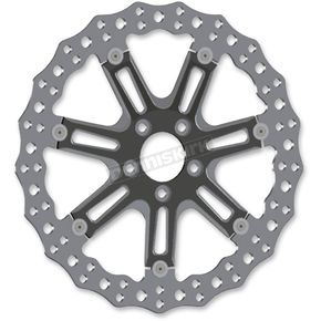 Black Front 14 in. 7 Valve Two-Piece Floating Brake Rotor - 33-10301-203