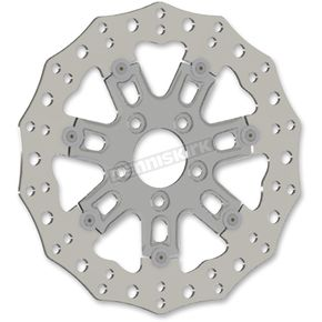 Chrome Front 11.8 in. 7 Valve Two-Piece Floating Brake Rotor - 33-10302-202