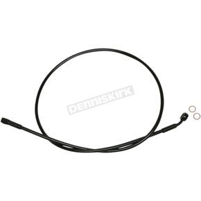 Black Alternative Length XR Stainless Extreme Response ABS Upper Brake Line Kit - 35°, 10mm, 17 in. - SBB0706-17