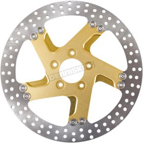 Pro-Am Gold OPs  Front Right  Two-Piece Brake Roto - 01331802FACRSMG