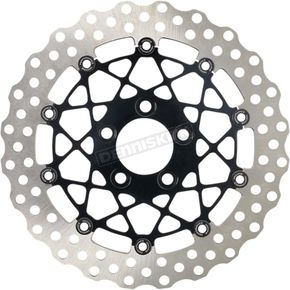 Black Ops  Two Piece Front Speedster  Brake Rotors - 0133-1809S-B