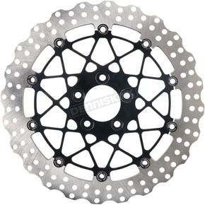 Black Ops Two Piece Front Speedstar Brake Rotor - 0133-3060S-B