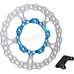 Blue Anodized Big Brake Full Floating Right Rotor Kit - 300-005