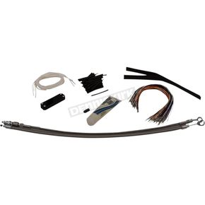 Silver EZ Braided Installation Kit - 109114