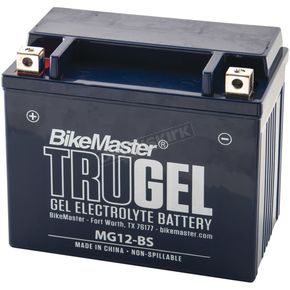 TruGel 12-Volt Battery - MG12-BS