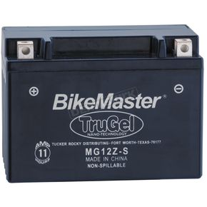 TruGel 12-Volt Battery - MG12Z-S