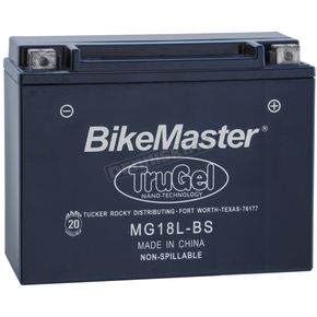 TruGel 12-Volt Battery - MG18L-BS