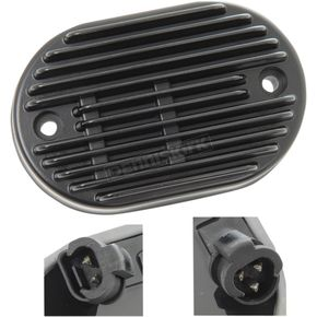 Drag Specialties Black Premium Voltage Regulator - 2112-1030