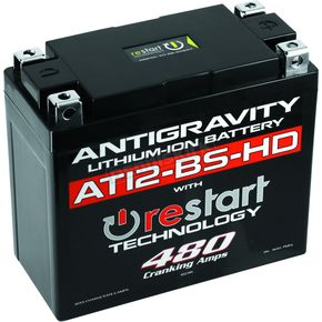 Heavy Duty Re-Start AG-AT12-HD-BS-RS Lithium Battery - AG-AT12-BS-HD-RS