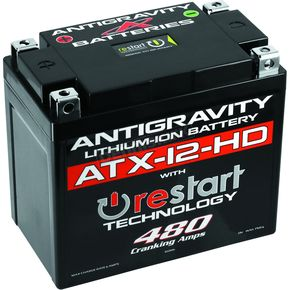 Heavy Duty Re-Start AG-ATX12-HD-RS Lithium Battery - AG-ATX12-HD-RS