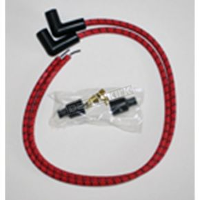 Sumax Red/Black Classic Thunder Braided Cloth Wire Set - C76281