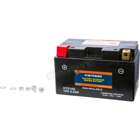 Sealed Factory Activated Battery - CTZ10S