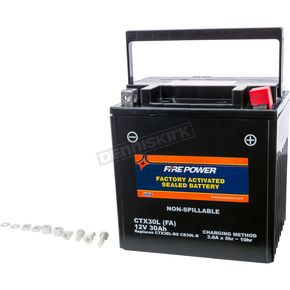 Sealed Factory Activated Battery - CTX30L-BS(FA)